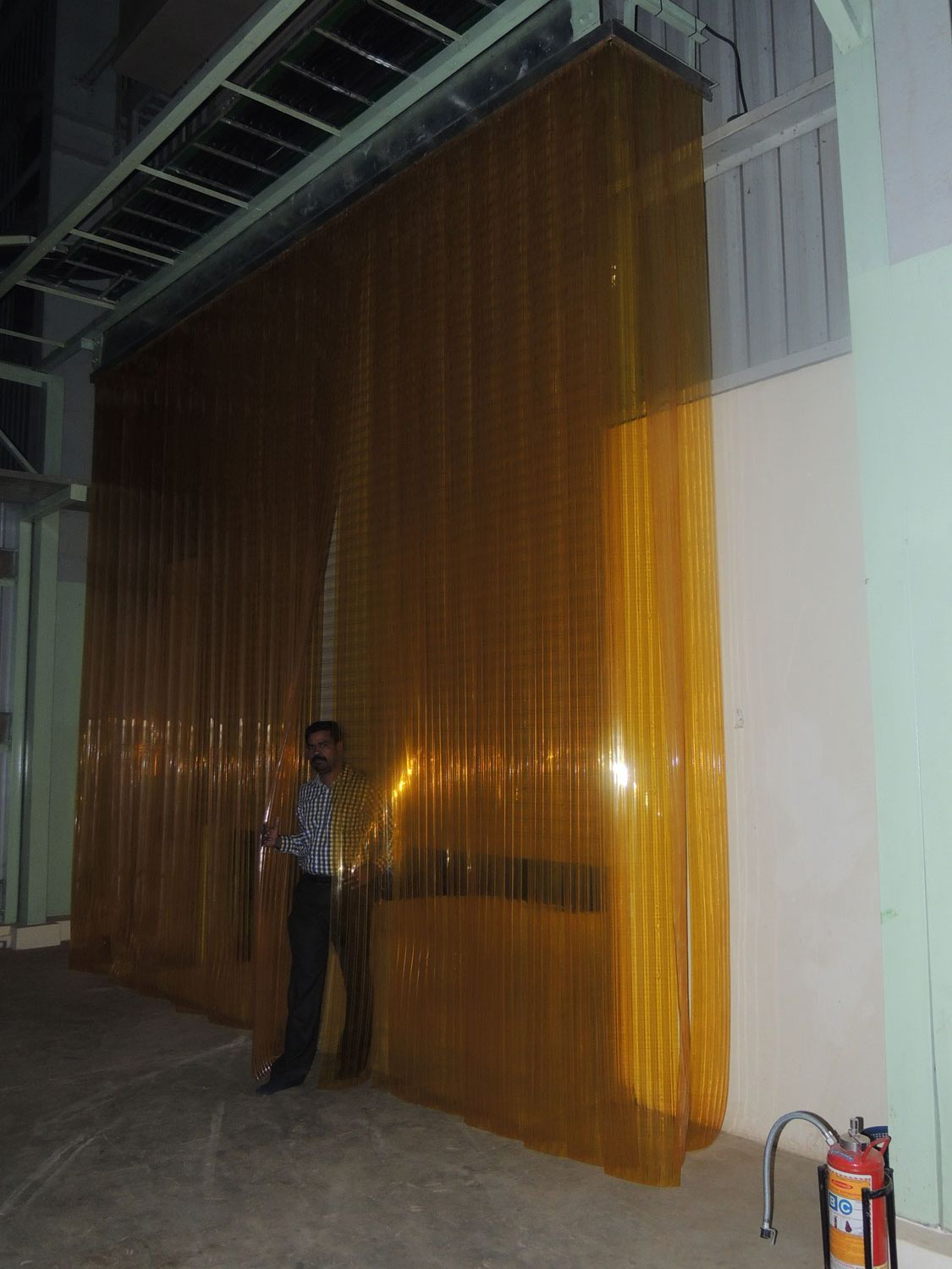 Double-ribbed-Industrial-warehouse curtains