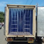 PVC strip curtains for Freezer van