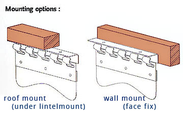 pvs srip curtain mounting option