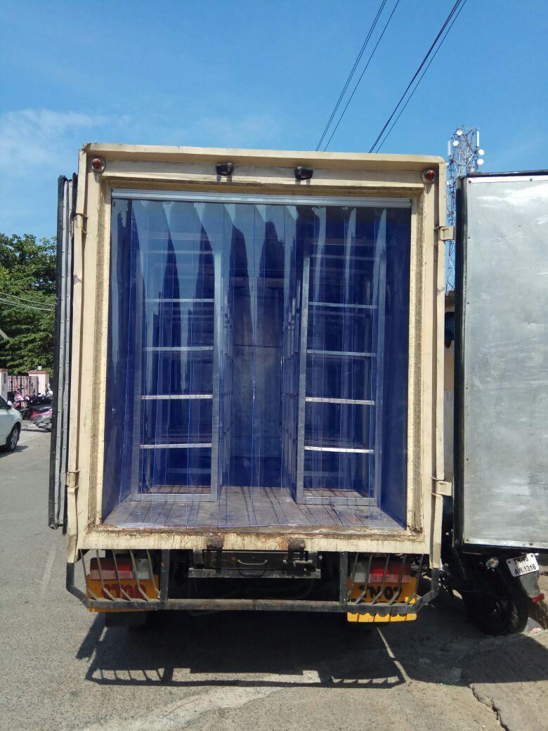 PVC strip curtains for Freezer van